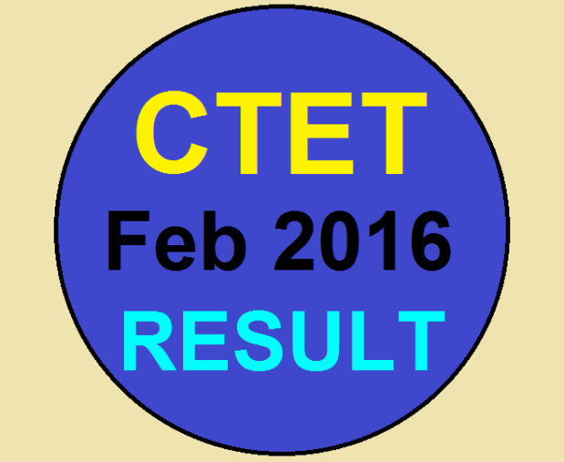 cbse ctet feb. result 2016