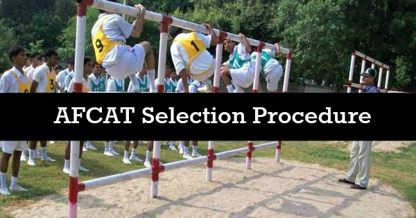 AFCAT selection process