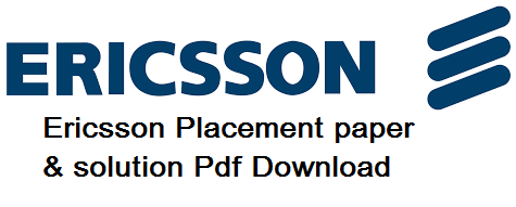 Ericsson Placement paper and solution
